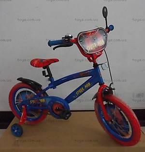 Двухколесный велосипед со стальной рамой «Spider-Man», 16 дюймов, 141617