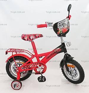 Двухколесный велосипед со стальной рамой «Тачки», 18 дюймов, 151820