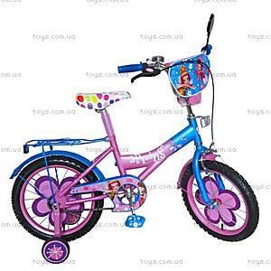 Двухколесный велосипед «Spring», розово-синий, 151807