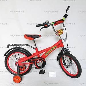 Двухколесный велосипед «Super Bike», красный, 151803