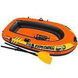Двухместная лодка с насосом и веслами, 583, іграшки