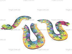 Двухсторонний пазл-алфавит «Змейка», , отзывы