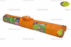 Двухстороннийковрик«СолнечныйденьиЦветныециферки»,150х180см, LP003-150, игрушки