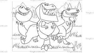 Двухсторонний пазл «Хороший динозавр» , 52820, фото