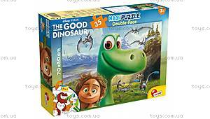 Двухсторонний пазл «Хороший динозавр» , 52820