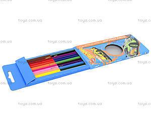 Двусторонние цветные карандаши, 12 штук, HW14-054K, купить