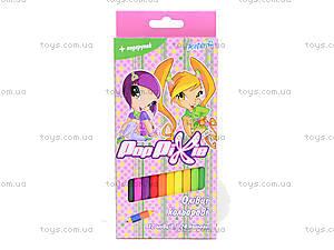 Двусторонние цветные карандаши Pop Pixie, PP13-054K