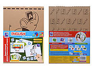 Обучающий материал с магнитами «English», VT3701-06, игрушки
