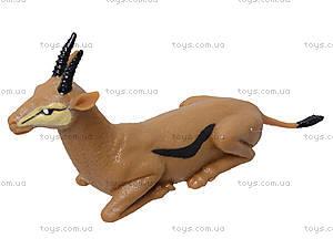 Резиновые игрушки-тянучки «Дикие животные», A01136P, фото