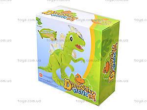 Детский проектор в форме динозавра, 1016A, детские игрушки