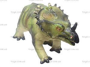 Резиновая фигурка «Динозавр», 2609, фото
