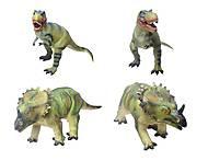 Резиновая фигурка «Динозавр», 2609, тойс