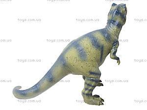 Резиновая фигурка «Динозавр», 2609, детские игрушки