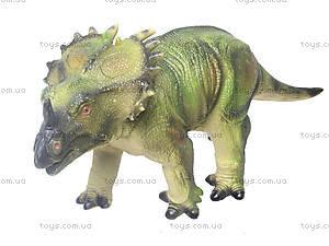 Резиновая фигурка «Динозавр», 2609, магазин игрушек