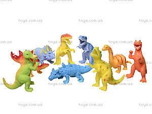 Набор игрушек-тянучек «Динозавр», A035P