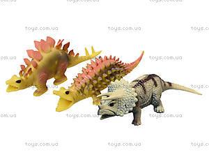 Игрушечный динозавр-тянучка, 6 штук, A129DB, фото