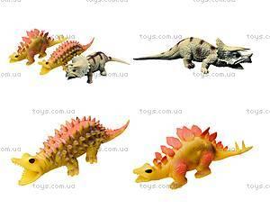 Игрушечный динозавр-тянучка, 6 штук, A129DB
