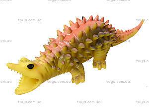 Игрушечный динозавр-тянучка, 6 штук, A129DB, цена