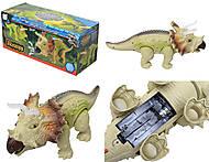 Игрушечный динозавр «Трицератопс», 3309, фото