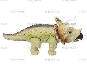 Игрушечный динозавр «Трицератопс», 3309, игрушки