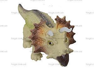 Игрушечный динозавр «Трицератопс», 3309, детские игрушки