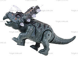 Детский динозавр со звуковыми эффектами, 9789-73, фото