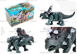 Детский динозавр со звуковыми эффектами, 9789-73