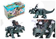 Детский динозавр со звуковыми эффектами, 9789-73, купить