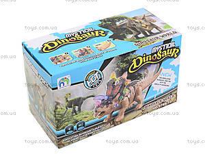 Детский динозавр со звуковыми эффектами, 9789-73, отзывы