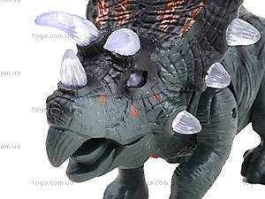 Детский динозавр со звуковыми эффектами, 9789-73, цена