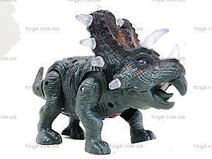Детский динозавр со звуковыми эффектами, 9789-73, игрушки