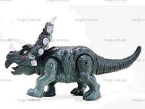 Детский динозавр со звуковыми эффектами, 9789-73, детские игрушки