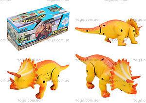 Игрушечный динозавр со звуковыми эффектами, 9789-61