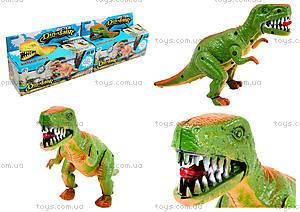 Игрушечный динозавр со звуком, 9789-57