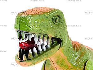 Игрушечный динозавр со звуком, 9789-57, отзывы