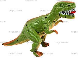 Игрушечный динозавр со звуком, 9789-57, игрушки