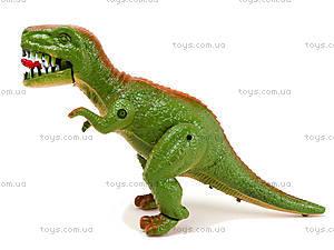 Игрушечный динозавр со звуком, 9789-57, детские игрушки