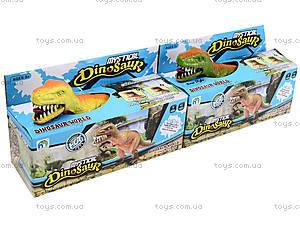 Игрушечный динозавр со звуком, 9789-57, магазин игрушек