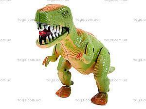 Игрушечный динозавр со звуком, 9789-57, toys.com.ua