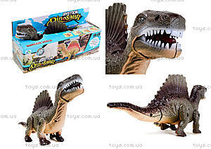 Детский динозавр со светом и звуком, 9789-58