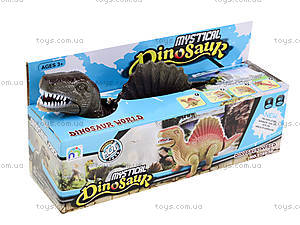 Детский динозавр со светом и звуком, 9789-58, цена