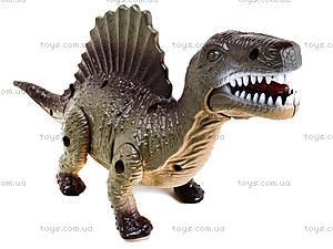 Детский динозавр со светом и звуком, 9789-58, игрушки