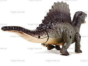 Детский динозавр со светом и звуком, 9789-58, детские игрушки