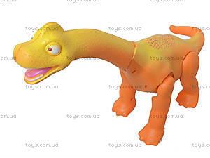 Игрушечный динозавр на батарейках, XZ501, фото