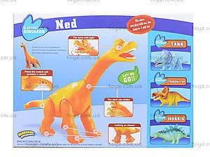Игрушечный динозавр на батарейках, XZ501, toys.com.ua