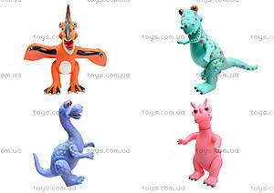 Резиновая игрушка «Динозавр», 2814