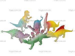 Динозавр-тянучка «Гонконг», 12 видов, A016PG, игрушки