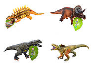 Динозавр со звуком, 6 видов в ассортименте, JZD-7778, купить