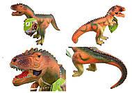 Динозавр со звуком, 6 видов в ассортименте, JZD-7778, фото