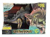 """Динозавр """"Cretaceous"""" ходит с подсветкой и звуками, WS5355, фото"""